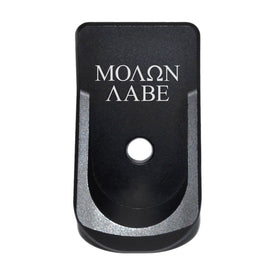 Extended Magazine Plate For Glock 42 - Molon Labe Text