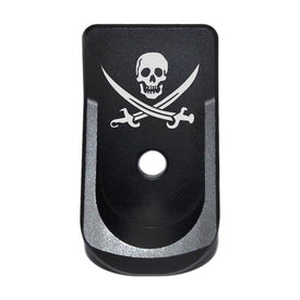 Extended Magazine Plate For Glock 42 - Pirate