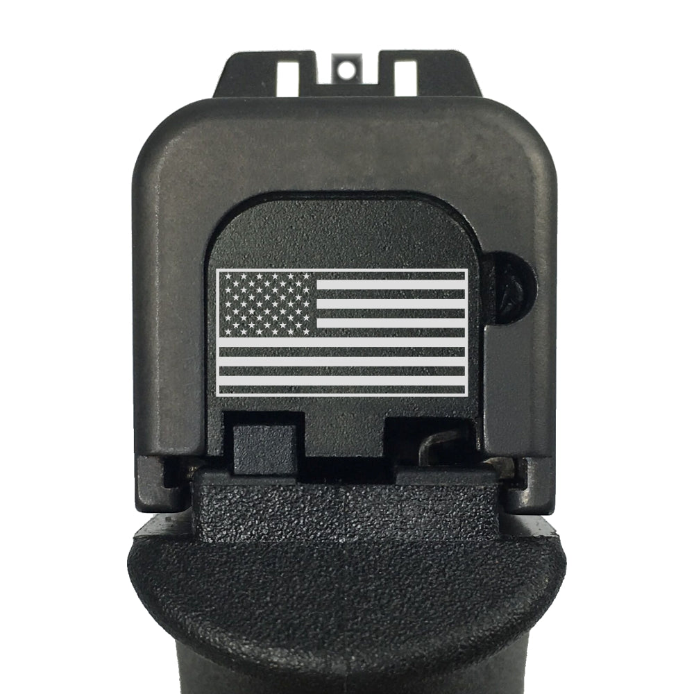 TOP 6 - For Glock Models 43/43X/48 - Choose your design, Rear Slide Back Plates