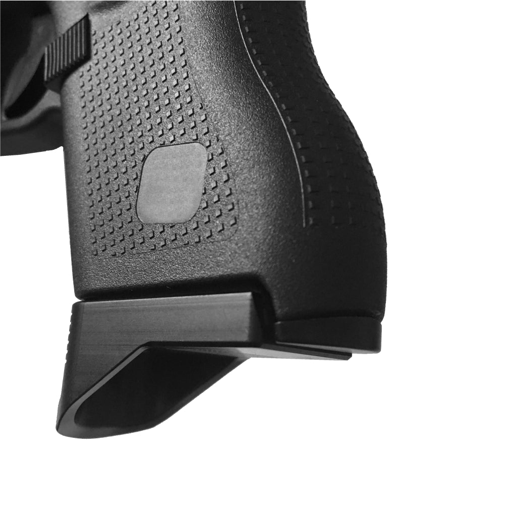Trucker Girl With Gun - For Glock 43 9mm - Magazine Base Plate, Grip Extention