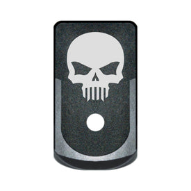 Extended Magazine Base Plate For Glock 43 - Bastion Skull