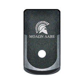 Extended Magazine Base Plate For Glock 43 - Molon Labe