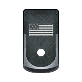 Extended Magazine Base Plate For Glock 43 - USA Flag