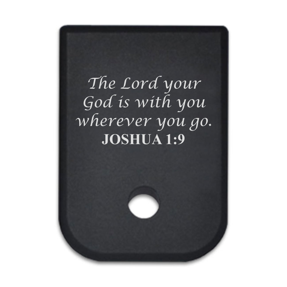 Scriptures - For Glock 45cal/10mm - Choose your design, Magazine Base Plate