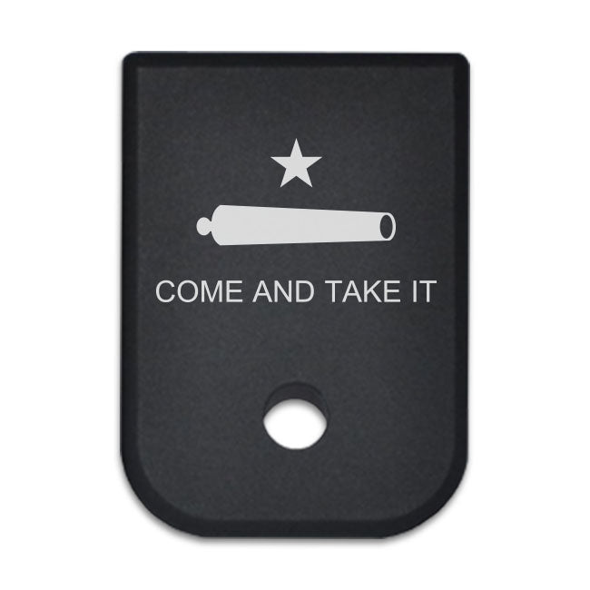 Take A Stand - For Glock 9mm/40cal - Choose your design, Magazine Base Plate, Flat