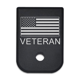 Service - For Glock 9mm/40cal - Choose your design, Magazine Base Plate, Flat