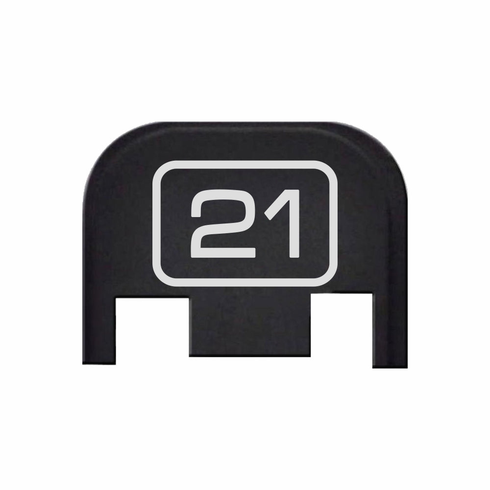 G21 Model Number - For Glock Models 17-41 & 45 - Rear Slide Back Plates