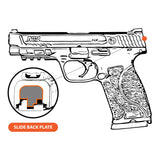 Take A Stand - FULL SIZE S&W M&P9/40/45 M2.0 - Choose your design, Rear Slide Back Plates
