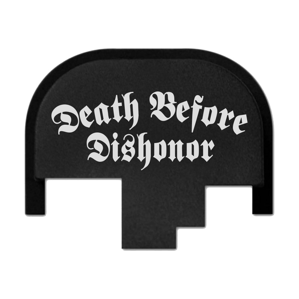 Death Before Dishonor - FULL SIZE S&W M&P9/40/45 M2.0 - Rear Slide Back Plate