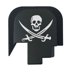 Rear Slide Plate For S&W M&P45 SHIELD SUBCOMPACT - Pirate