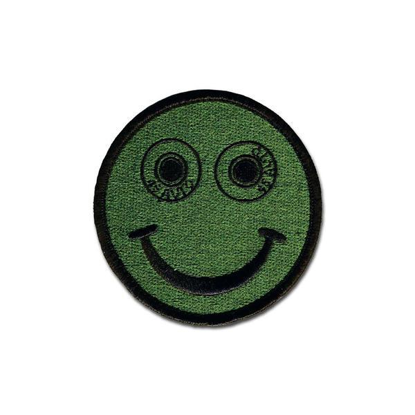 .45 Auto Smiley - Choose Color - Embroidered Morale Patch