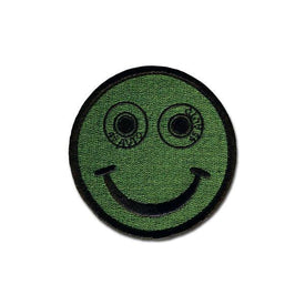 Embroidered Morale Patch - .45 Auto Smilee - Choose Color