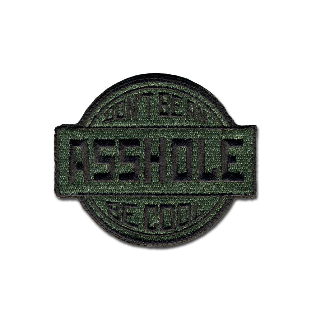 Be Cool - Choose Color - Embroidered Morale Patch