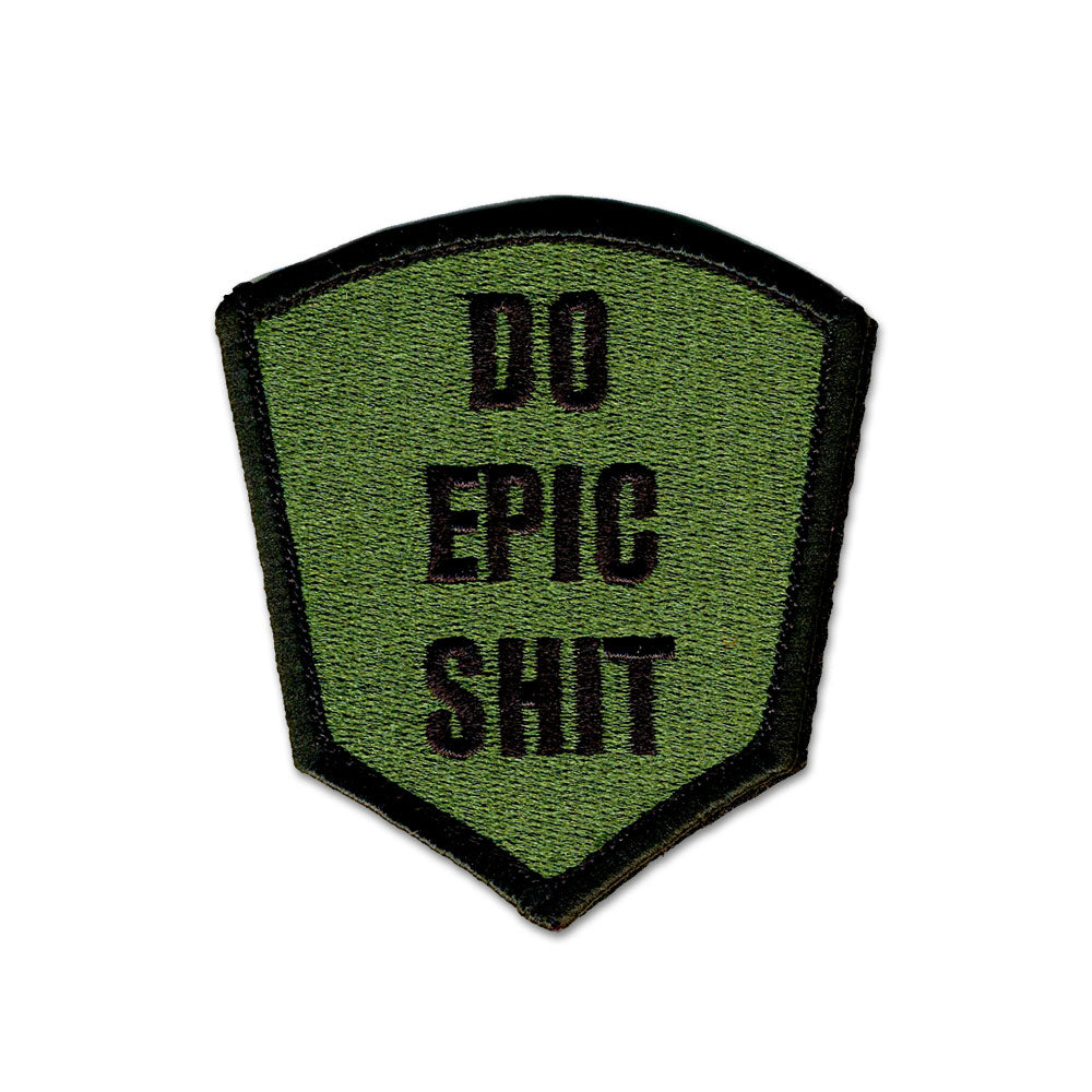 Do Epic Shit - Choose Color - Embroidered Morale Patch
