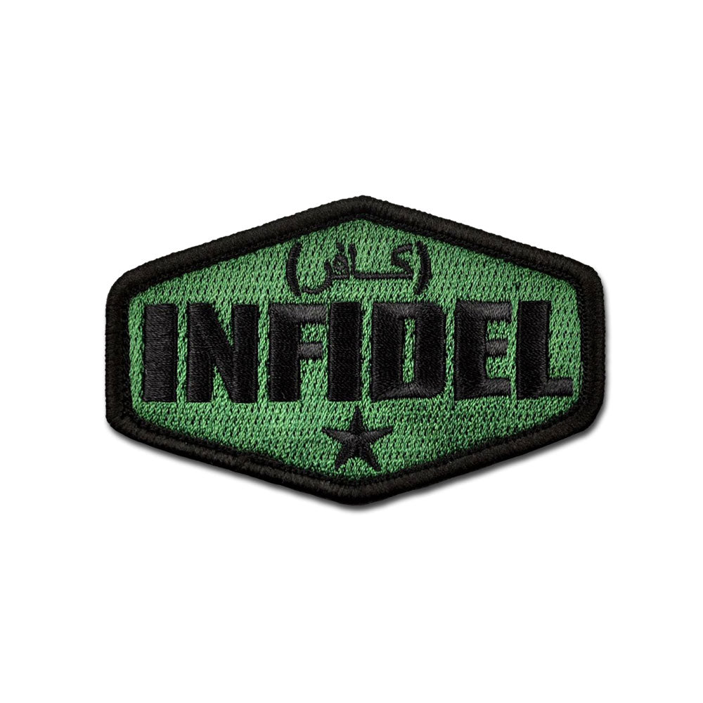 Infidel - Choose Color - Embroidered Morale Patch