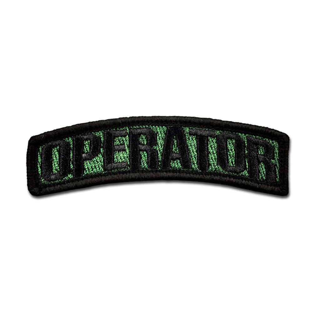 Operator Arc - Choose Color - Embroidered Morale Patch