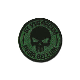 Embroidered Morale Patch - Si Vis Pacem - Choose Color