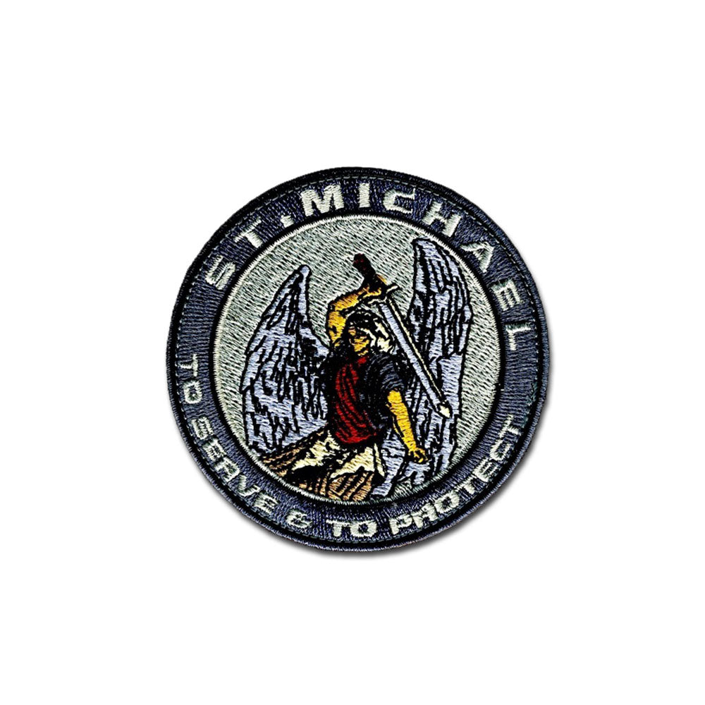 St. Michael - Choose Color - Embroidered Morale Patch