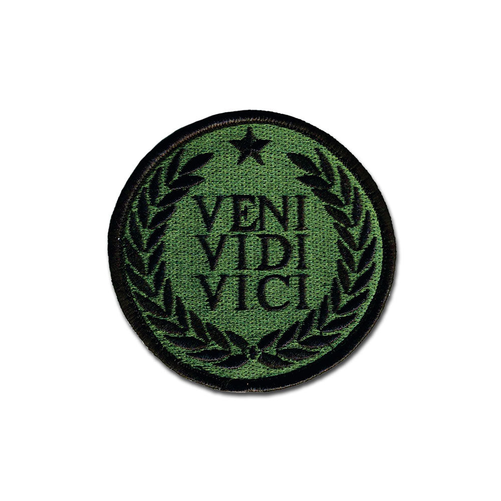 Veni Vidi Vici - Choose Color - Embroidered Morale Patch