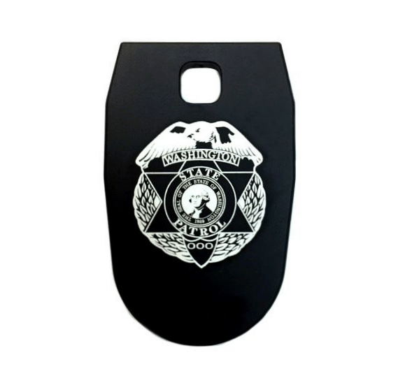 Washington State Patrol Mag Base Plate for SW MP 9MM or .40 - Square Hole