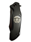 Washington State Patrol Braza D2 Blade Folding Knife - Custom Badge Design