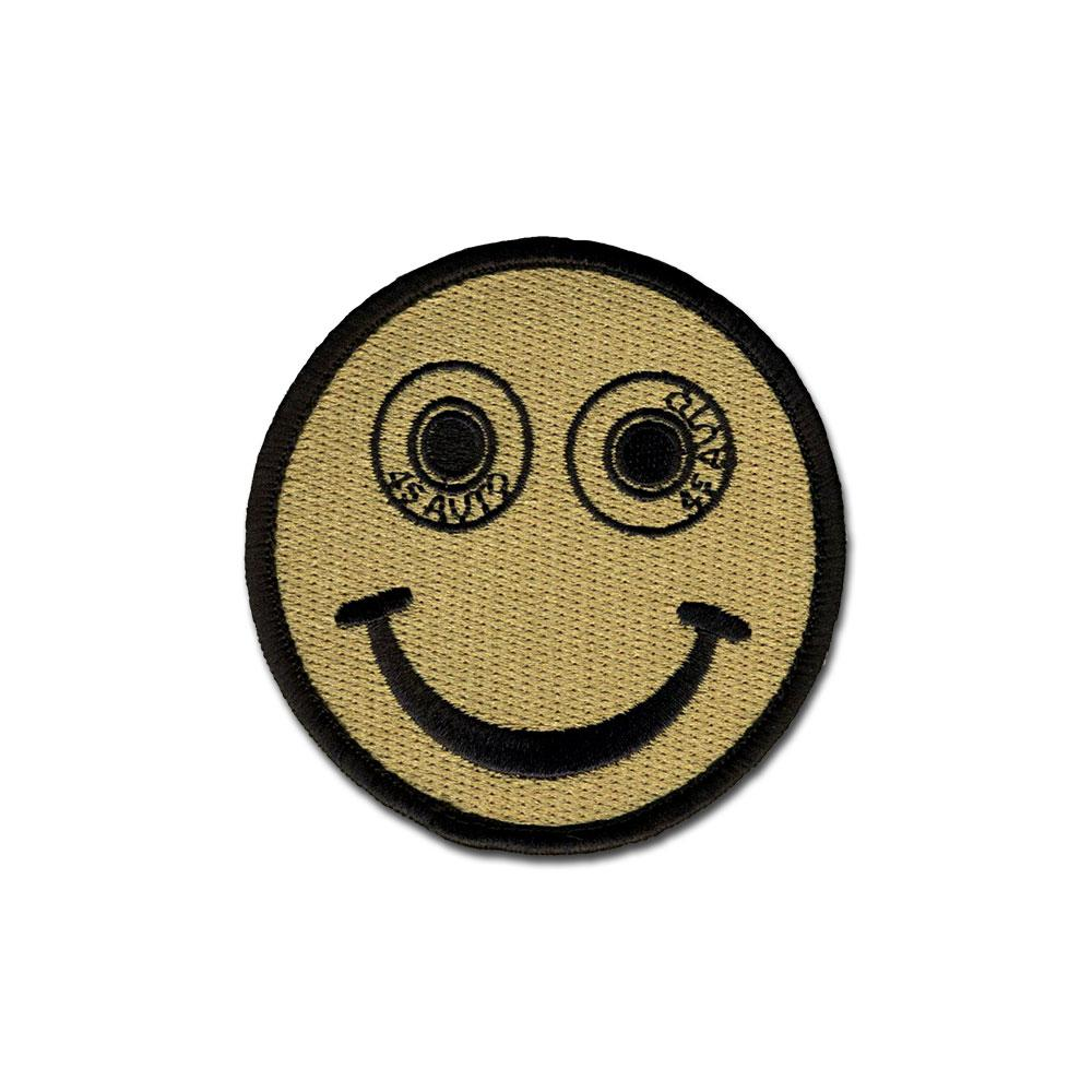 EMB MORALE PATCH - .45 AUTO SMILEE CHOOSE COLOR