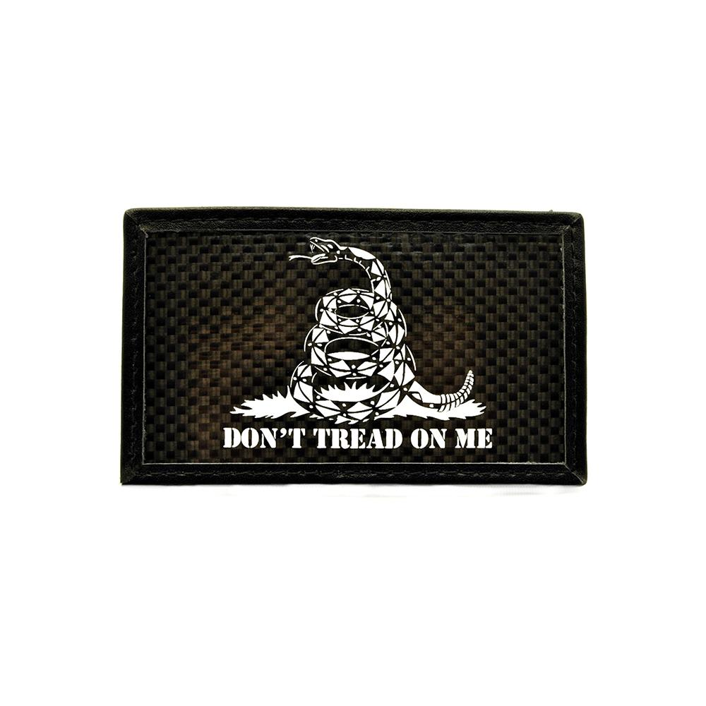 Don't Tread On Me - Carbon Fiber Morale Patch