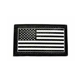 Carbon Fiber Morale Patch - USA Flag