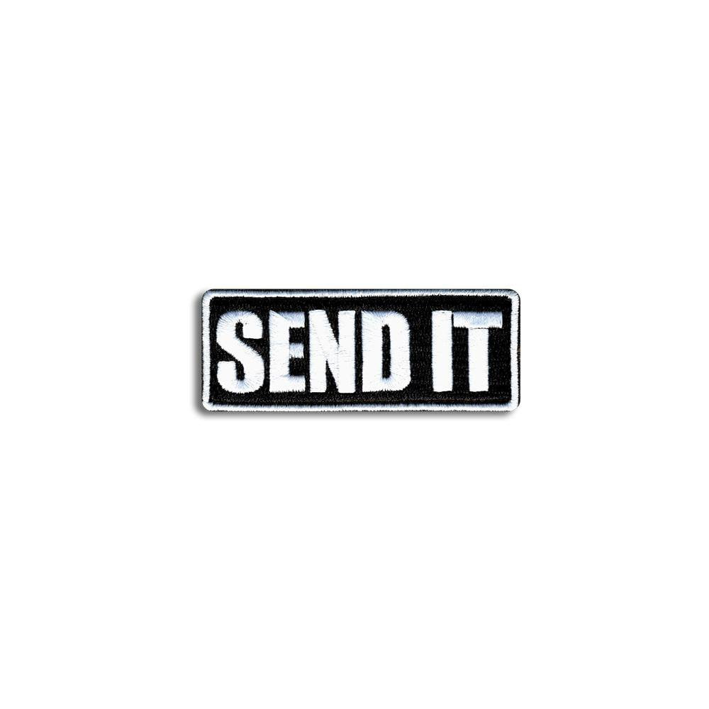 SEND IT - Choose Color - Embroidered Morale Patch