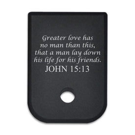 John 15:13 - For Glock 45cal/10mm - Magazine Base Plate