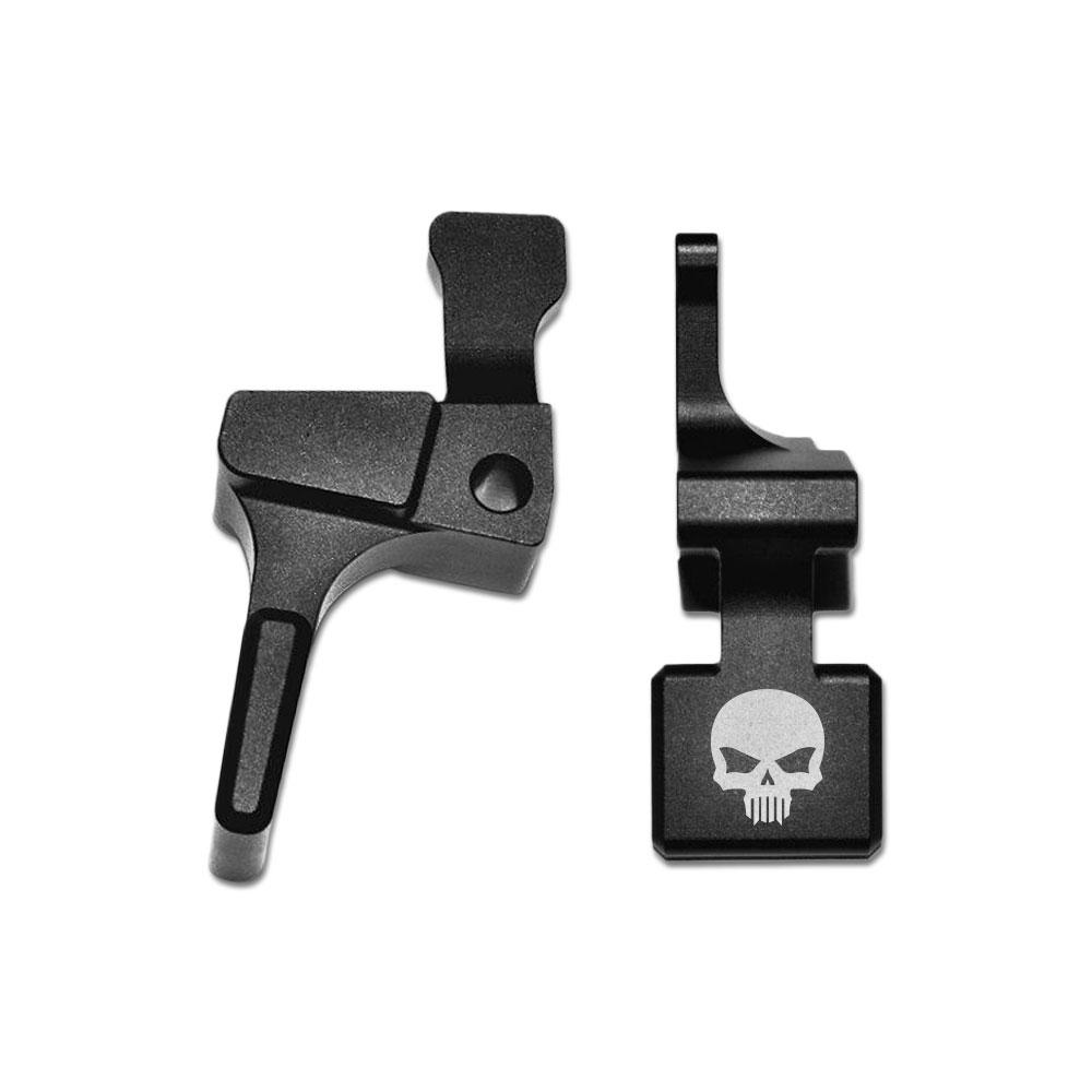 EXTENDED MAG RELEASE FOR RUGER 10/22 SHORT - BASTION SKULL