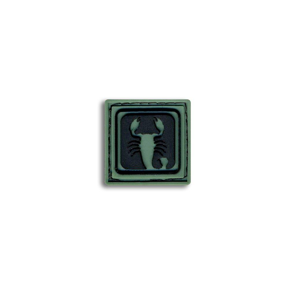 Scorpio - Choose Color - PVC Morale Patch