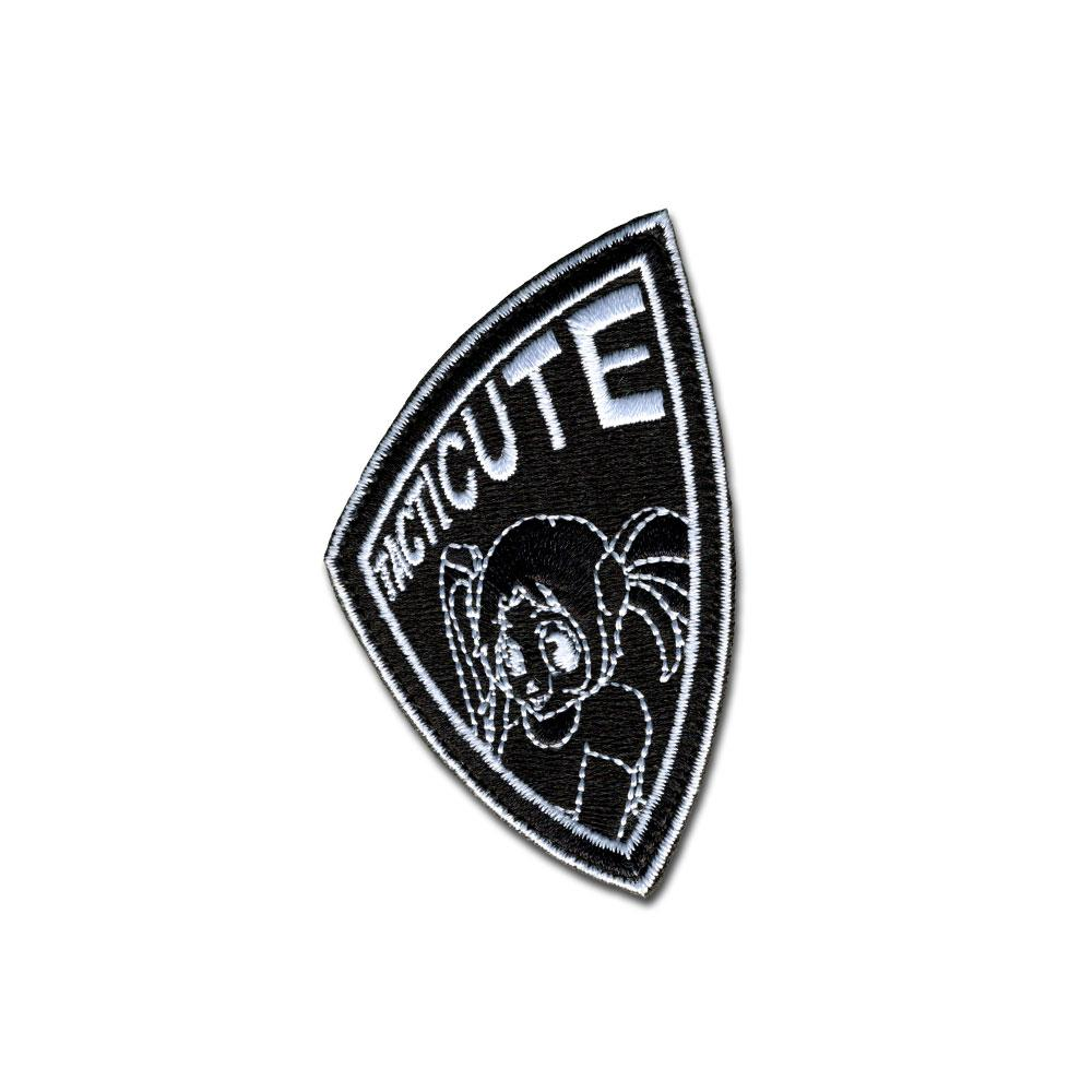 Tacticute - Choose Color - Embroidered Morale Patch