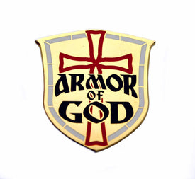 Bastion Morale Lapel Pin Armor Of God