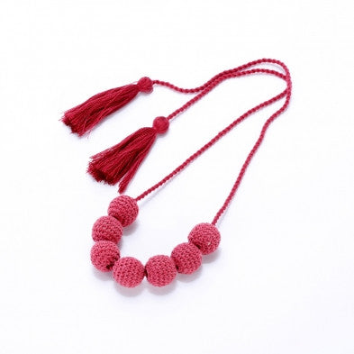 Crochet Girls Necklace - Noa & Vivi Kids Apparel