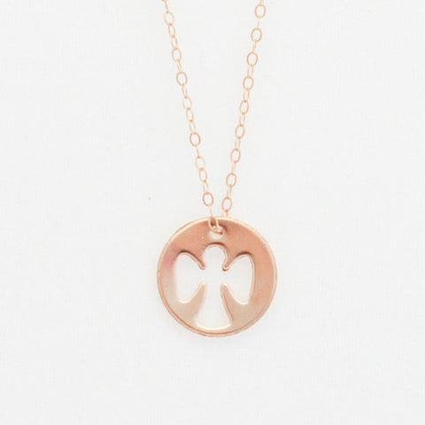 Guardian Angel Necklace - Noa & Vivi Kids Apparel