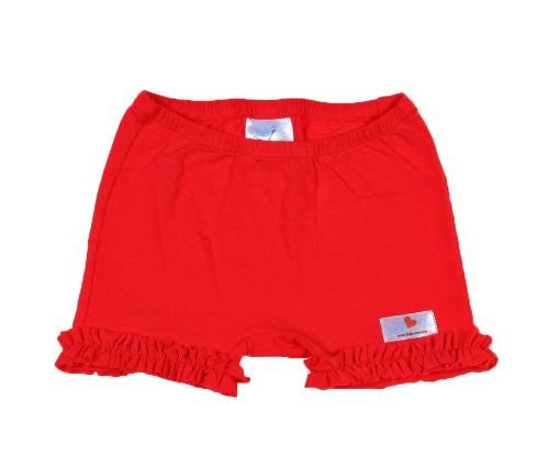 Hide-ees Red with Ruffle - Noa & Vivi Kids Apparel