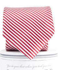 Red Striped Tie - Noa & Vivi Kids Apparel