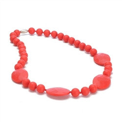 Perry Necklace in Cherry Red - Noa & Vivi Kids Apparel