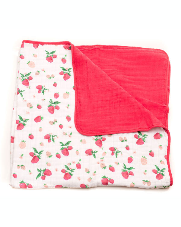 Cotton Muslin Baby Quilt - Noa & Vivi Kids Apparel