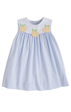 Lemon Bib Dress - Noa & Vivi Kids Apparel