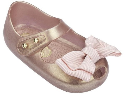 My First Mini Melissa Metallic Pink|Size 3 - Noa & Vivi Kids Apparel