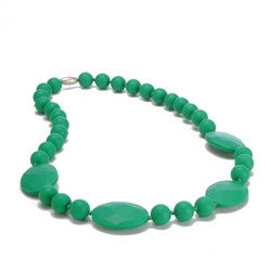 Perry Necklace in Emerald Green - Noa & Vivi Kids Apparel