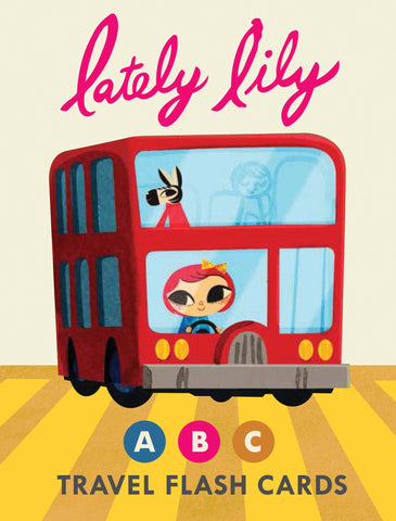 Lately Lily ABC Travel Flash Cards - Noa & Vivi Kids Apparel