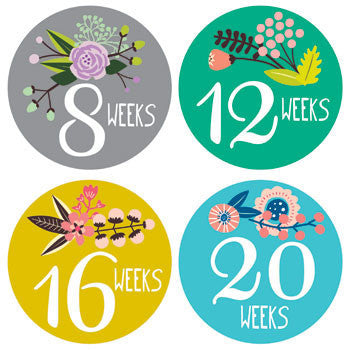 Pregnancy Little Artist Stickers - Noa & Vivi Kids Apparel