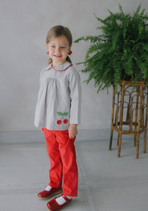 Cherry Pant Set - Noa & Vivi Kids Apparel