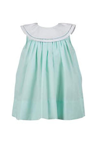 Mint Magnolia Dress - Noa & Vivi Kids Apparel