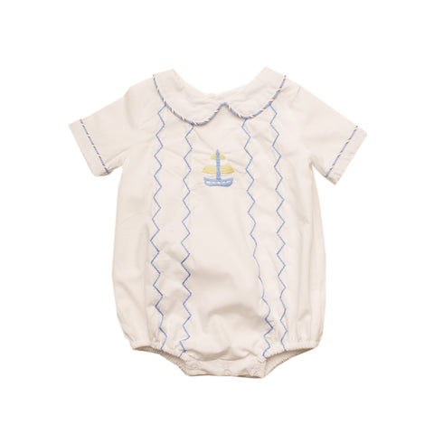 Oaks Apparel Chase Sailboat Bubble - Noa & Vivi Kids Apparel