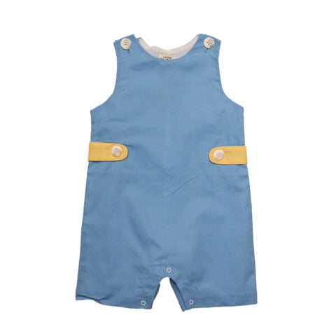 Oaks Apparel Corey Blue and Yellow Jon Jon - Noa & Vivi Kids Apparel