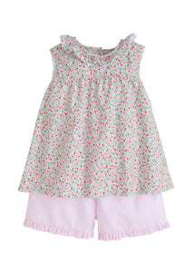Little English Pippa Short Set - Noa & Vivi Kids Apparel